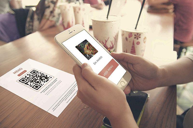 Offri ai tuoi clienti un menu contactless e digitalizzato